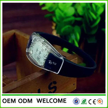 LSDGIFT best selling item 2016 new products promotional cheap custom remote controlled led bracelet China supplier factory