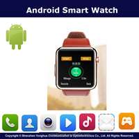 Best Selling 1.54 Inch Unlocked Smart Watch Mobile Phone With Sleep Monitoring And NFC Wholesale