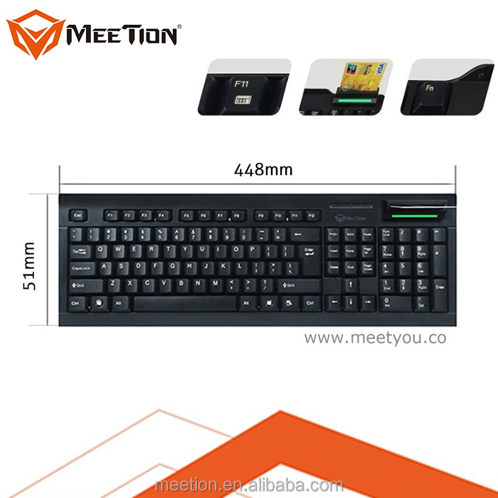 Eletronic Lock/MSR Reader PS/2 Port Keyboard for Pos