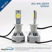 Replacement 3200lm D1 D2 D3 D4 Auto led headlamp for aftermarket