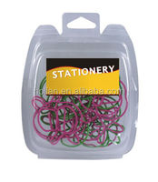 Assorted Shaped Paper Clips In Clamshell