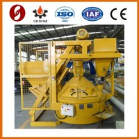 Planetary concrete mixer with skip hoist system MP330