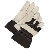 NEWSAIL Hand tool working gloves/ Rigger leather safety gloves
