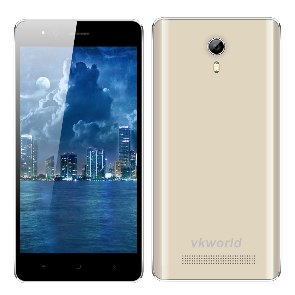 Original vkworld F1 4.5 inch MTK6580 Quad Core RAM1G ROM8G Super Slim 3G Mobile Phone with Cheap Price