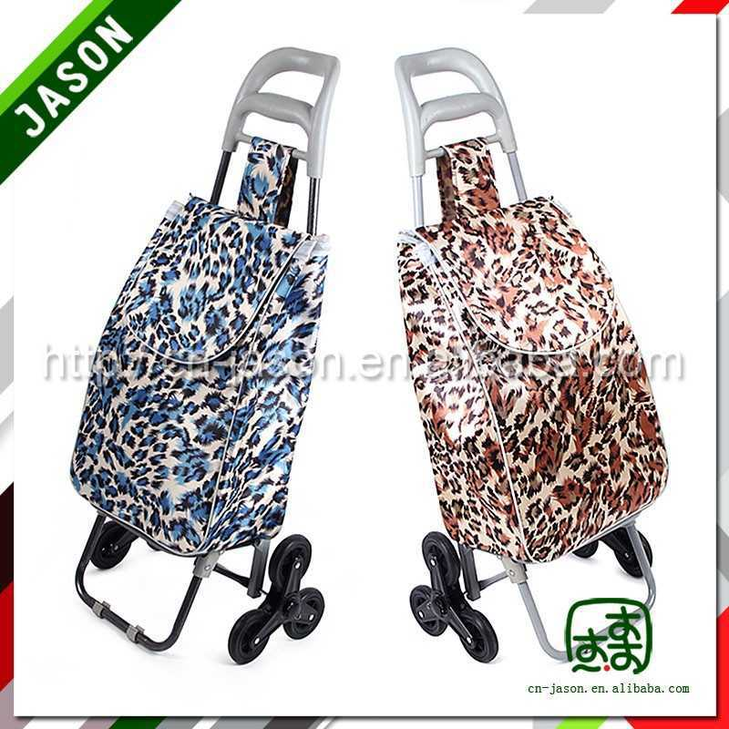 shopping trolley bag electric supermarket cash register stand