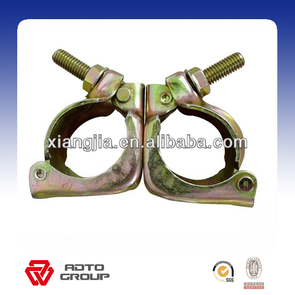 Scaffolding Pre-galvanzied double coupler load capacity 48.3MM/1.02-1.05kg africa