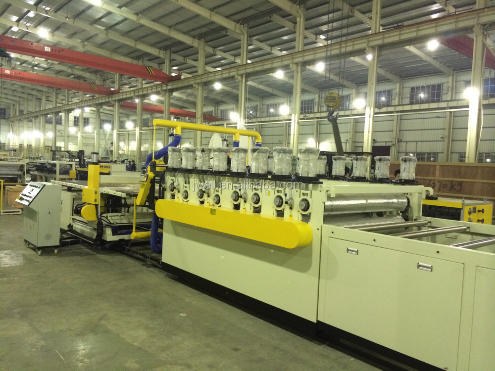 JWELL - the extrusion line to making machine of PVC celuka foam board production line