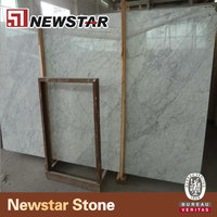 White marble grade a italy carrara marble slab for countertops