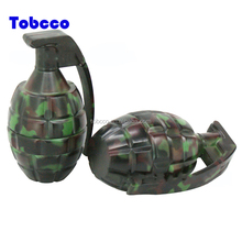 High quality 52mm 2 layers Zinc alloy camouflage Hand grenades Herb Grinder
