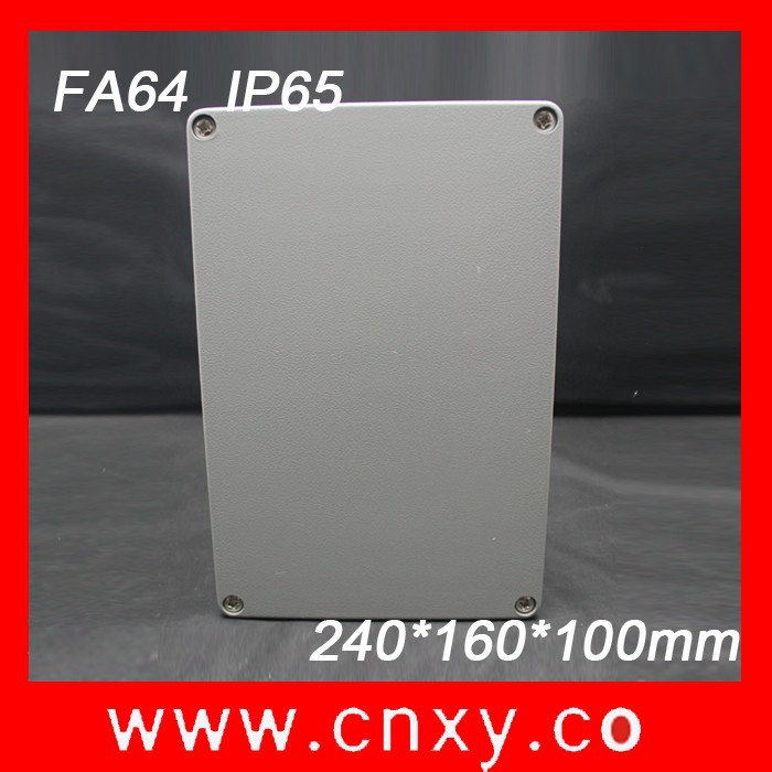 CNXY Hot Sale aluminum Box/ Enclosure Electronic Outdoor Disturbution Matel Box
