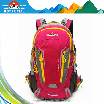 Guangzhou factory fashion hiking outdoor transparent backpack
