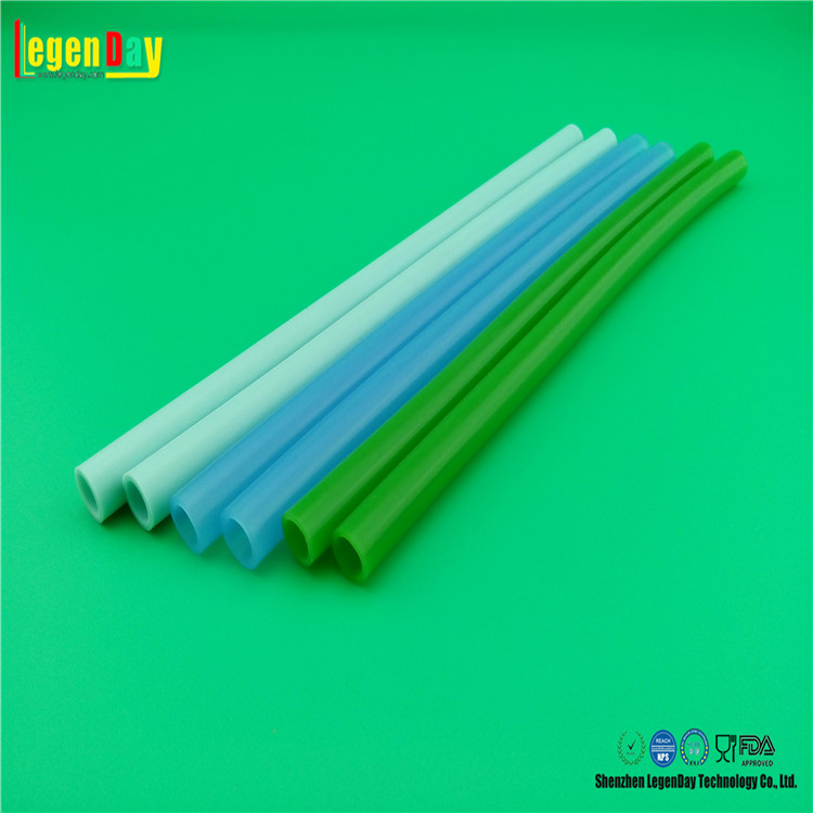 Colorful Customized thin wall silicone tube