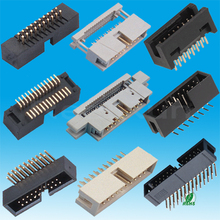 PCB Connector SMT/Straight/Right Angle Type 1.27 /2.00 /2.54mm IDC Box Header Connector