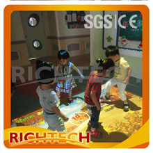 HOT Sale! RichTech Interactive floor kid games all-in-one system