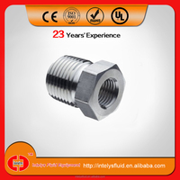 stainless steel ss 316 instrument male female pipe fittings hex bushing/ reducing bushing