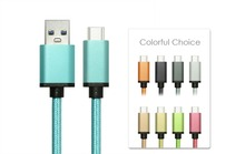Hi-speed Nylon Braided USB 3.1 Type C USB-C to Standard Type A USB Data Cable for Nexus 6P, Nexus 5X, Oneplus 2 ect.