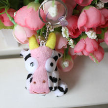 high-quality crochet animal cow & plush toy wholesale new year gift