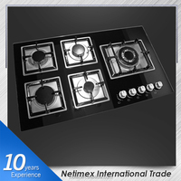 Factory low price SS panel 5 burner build-in Gas hob/Gas Stove/Gas Cooker