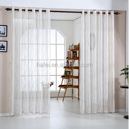 modern wave designs wave voile fabric window curtain sheer curtain