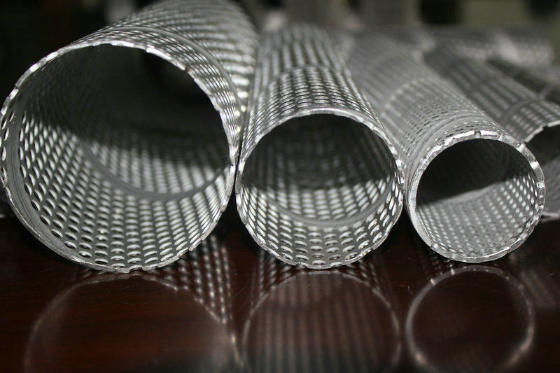 Stainless Steel Perforated Wire Metal Mesh For Filtering
