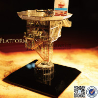 Crystal Oil Rig Model For Sale