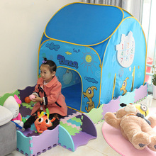 new mini indoor carton style baby tent infant play house cheap price portable baby toy tent