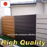 for plastic garden fence and balconies fence