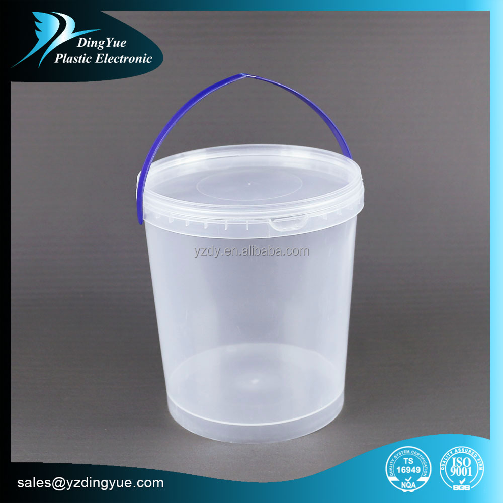 High quality Customize decorative plastic bucket