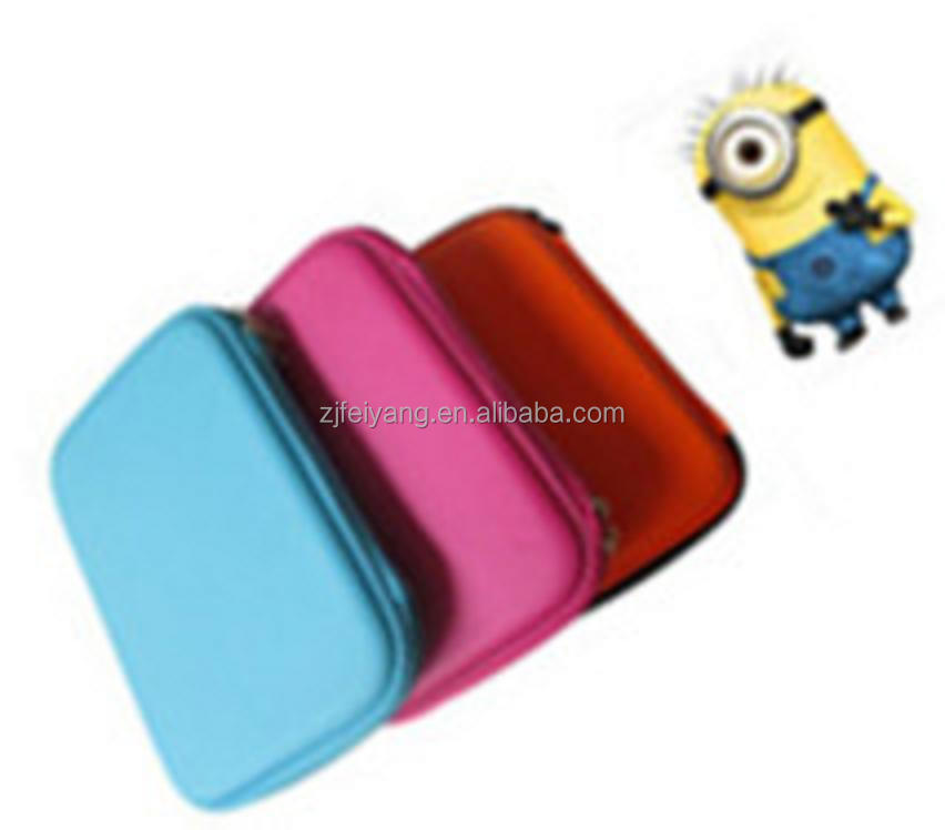 Hot selling minions depicable me attractive PU EVA manufacturer back to cartoon design samsonite kids school Pencil Case/bag