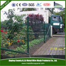 ISO9001 certificated high quality low price used chain link fence panels