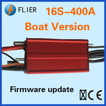 Flier surfboard brushless 16S 400A ESC for RC boat with marine speed controller