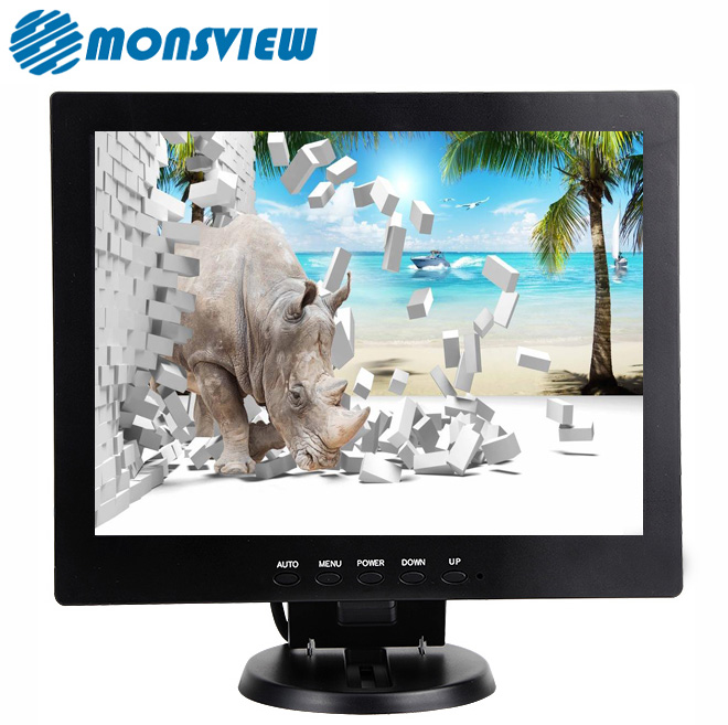 OEM Customize Square 12 inch car lcd desktop computer monitor