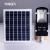 Solar Powered Luar Bridgelux Ip65 Tahan Air Smd Dipimpin Lampu Jalan Surya