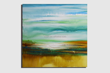 Modern Abstract Hand-painted Landscape Oil Painting on Canvas