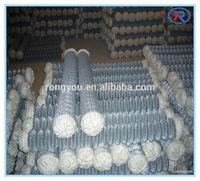 used galvanized chain link fence for sale ( diamond wire mesh)