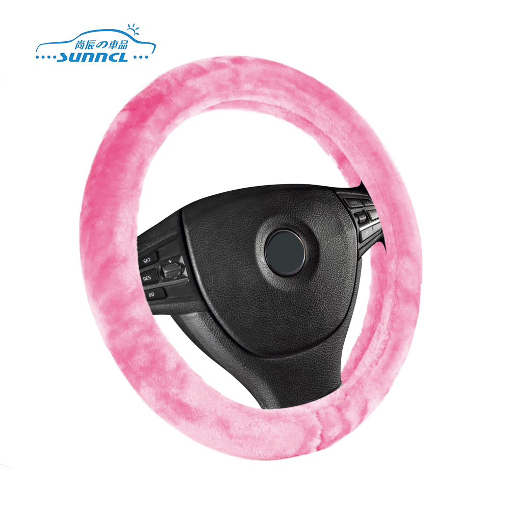 Professional heated car steering wheel cover