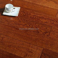 Wide plank style distressed oak engineered hardwood texture flooring(T&G with micro bevel)