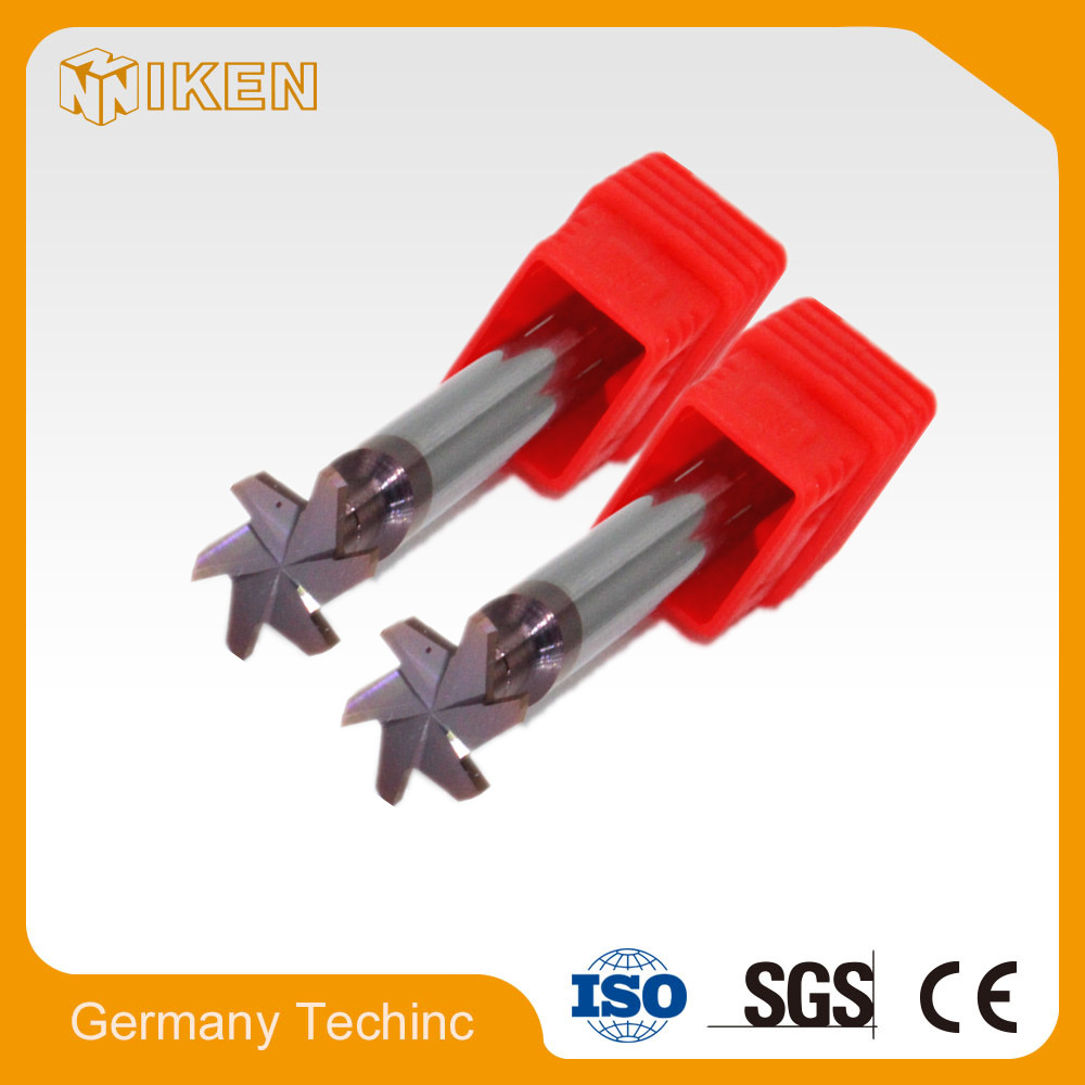 Solid Tungsten carbide T slot cutter