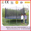 Fashion high quality best sale 6FT-16FT cheap body fitness Equipment Commercial Trampoline