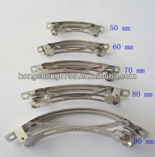 high quality metal spring hair clip