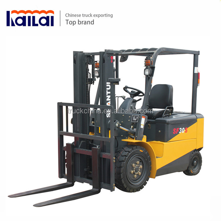 SHANTUI 1.5 ton Electric Forklift Stacker Mini Forklift Truck for sale