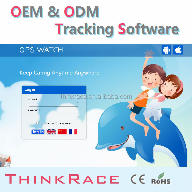 Googel Map vehicle tracking cell phone tracking software for pc /gps tracking systems/gps tracker by Thinkrace