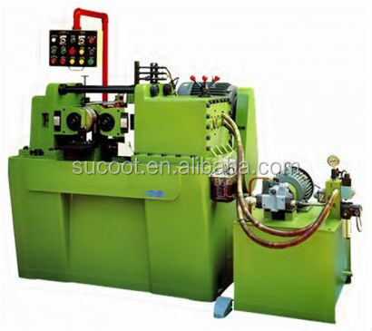screw and bolt thread cutting rolling machine