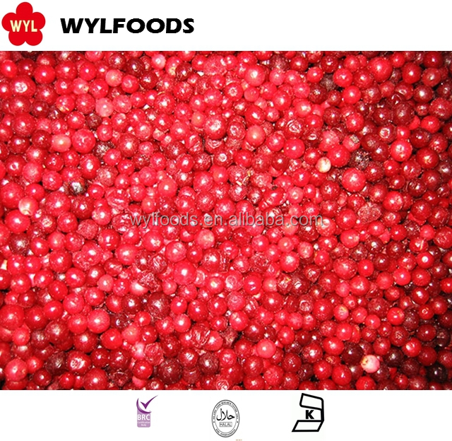 Frozen Fresh lingonberry Fruit