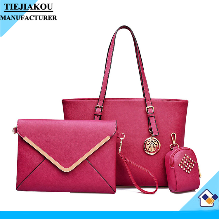 New products ladies leather hand bags factory