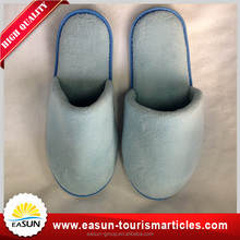 Disposable newest style terry waffle Hotel slipper wholesale factory