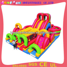 large inflatable slide obstacles inflatable fun city
