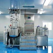 Cosmatic Firming Lotion Making Machine, Vacuum Emulsifying Mixer, Vacuum Emulsifier