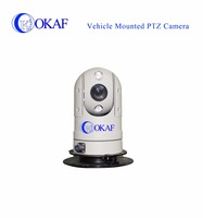 Night vision outdoor car roof-mounted ip mini dome 1080P hd-sdi ptz camera for police