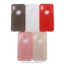 High quality factory price matte pc plastic material hard back case phone cover for iphone 8 case